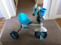 Blue Smart Trike with all accessroies