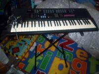 Casio CTK 630 Electronic Keyboard with Stand £30