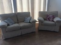 Sofa & Table with chairs