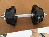 Dumbbells. Brand New with Grip Gloves 10.3kg