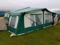 Pennine pathfinder with solar trailer tent folding camper