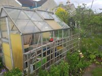8 x 6ft Eden Greenhouse