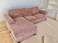 Large Large Right Hand Facing Arm Open End Corner Sofa