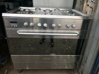 Range gas cooker 6 burners free delivery