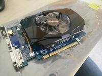 GigaByte GT 730 graphics card GPU