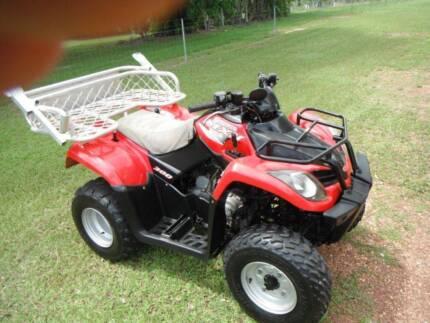 Kymco MXU 300cc Quad 2010