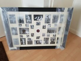 Large black picture frame