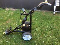 electric golf trolley powakaddy (taylormade nike ping titleist)
