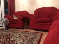 Sofa set, excellent condition £400