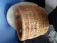 Extra large Wicker storage basket