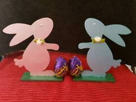 Little boy or girl Easter bunny's