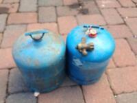 Camping gaz bottles full !!!