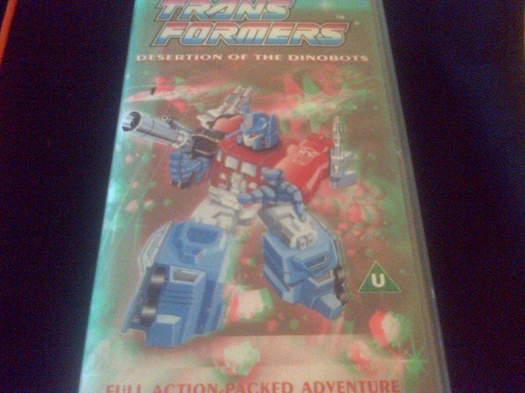 transformers cartoon 1985in Chorley, LancashireGumtree - TRANSFORMERS DVD. ~ Desertion of the dinobots. Original cartoon 1985/1986,Digitally re mastered. Run time 45 mins. (Disk only.) Collection or Via post (signed for) £1 extra for post. Call or text 07434710942