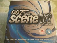 JAMES BOND 007 EDITION SCENE IT? DVD TRIVIA GAME (New & Boxed)