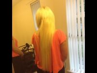 Hair Extensions Braids and all hair services in your own home