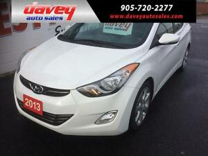 2013 Hyundai Elantra Limited SUNROOF, ALLOY WHEELS, LEATHER I...
