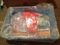 Hamster Cage Ferplast, BRAND NEW, Blue and orange