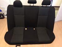 Mercedes C Class Cloth Seats.