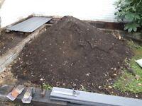 Mound of soil - free!