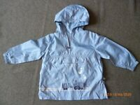 packaway waterproof coat boys age 2-3