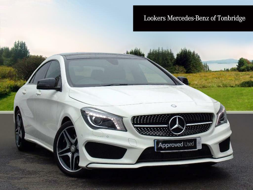 mercedes benz cla cla 220 d amg line white 2016 05 20. Black Bedroom Furniture Sets. Home Design Ideas