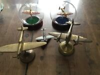Metal Plane Collection of WW2