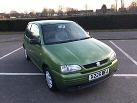 2000 X reg Seat Arosa Lupo 1.0 S Manual 3 door