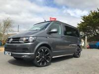 2017 VW T6 DSG Highline Camper with heated seats, Pop up roof, RIB bed and much more!