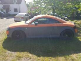 Audi tt coupe year 2000. Needs for nothing