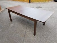 Ikea Bjursta Brown Extending Table 175cm - 260cm FREE DELIVERY 725