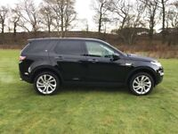 Land Rover Discovery Sport TD4 HSE LUXURY (black) 2016-12-06