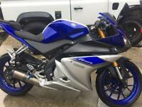 YZF 125R (200cc) 2015 for sale  Huyton, Merseyside
