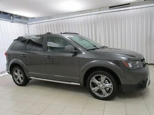 2017 Dodge Journey CROSSROAD 7PASS SUV w/ DVD PLAYER, NAV, ALLOY