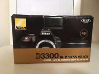 Nikon D3300 With AF-P 18-55 F3.5-5.6 VR kit