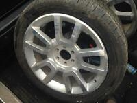 22'' Ford Harley Davidson rims with rubber