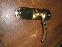 DOOR HANDLES internal, Heritage Howard brass