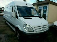 Man and large van removal delivery services