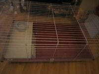 Cage for guinea pig or dwarf rabbit