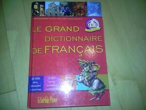 le grand dictionnaire de français