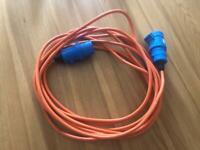 Mains Hook Up Cable 10 meter Motorhome Caravan Campervan New Unused