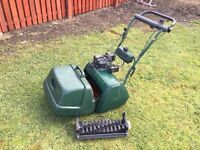 Atco lawn mower 17 with scarifier