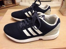 Adidas Torsian navy trainers