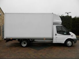 24-7 Man and Van House Moving Piano Delivery Hire Removal Luton Van for Moving & Clearance