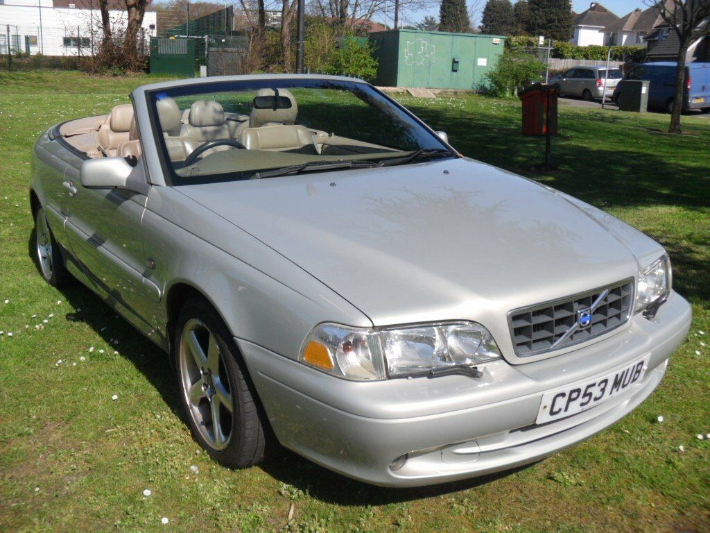 VOLVO C70 CONVERTIBLE NEW MOT SUMMERS HERE SERVICE HISTORY GREAT FUN CAR