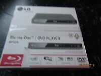 LG Blu-ray / DVD PLAYER BRAND NEW IN BOX STILL SEALED