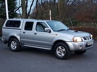 Immaculate Nissan Navara 4x4 Double Cabin Pickup Truck