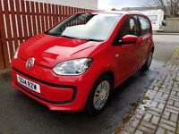 Volkswagen UP! Move Up 1.0 Petrol. 60 MPG. £20 tax. Cheap insurance. 19k miles, FSH.