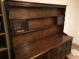 Sideboard/Welsh dresser and corner unit