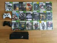 Xbox 360s, 19 Highly Rated Games and 2 Official Wireless Controllers