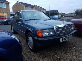 Mercedes 190e 2.0ltr auto w201 80,000miles